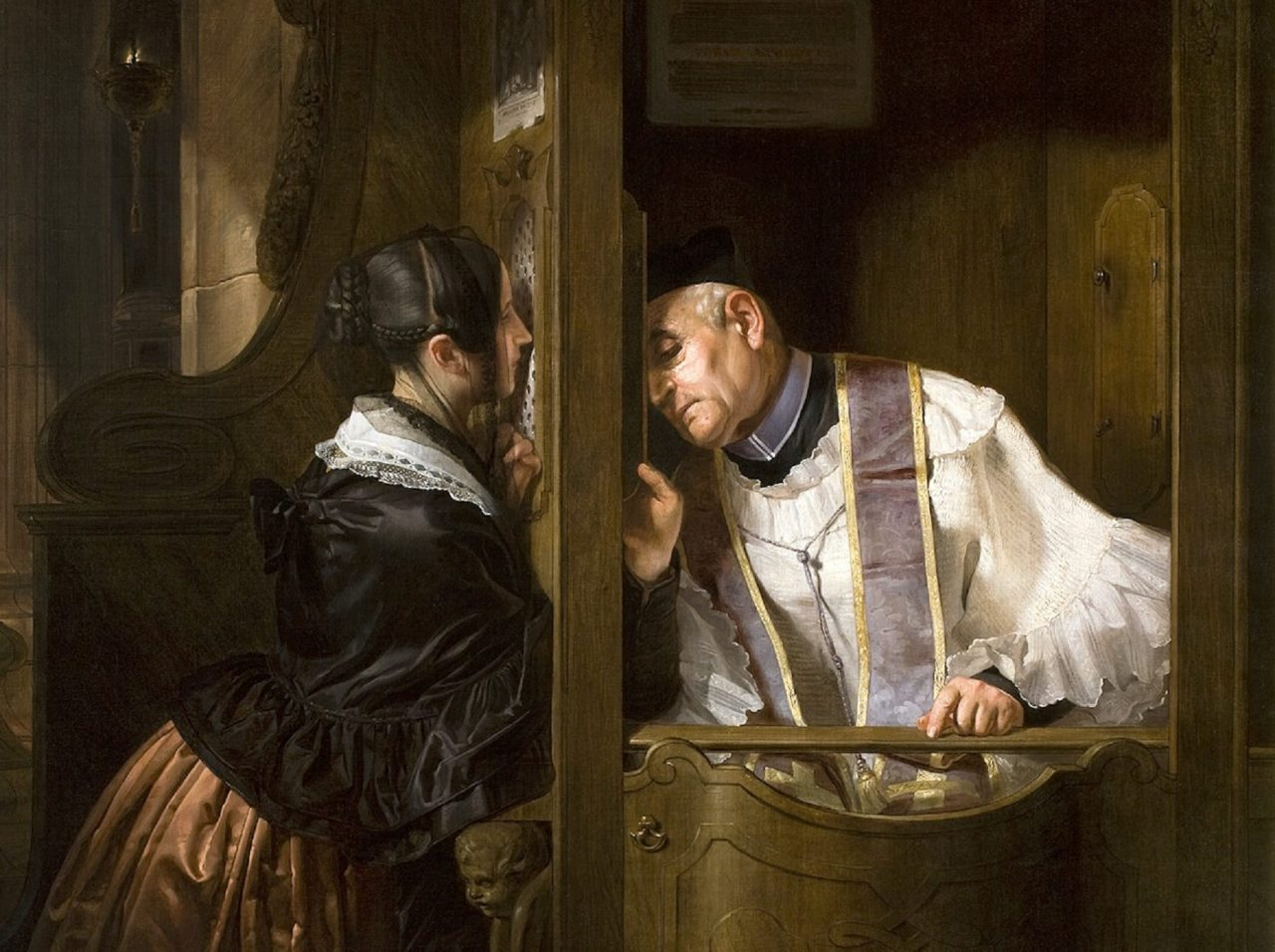 Why do Catholics confess their sins to a Priest?