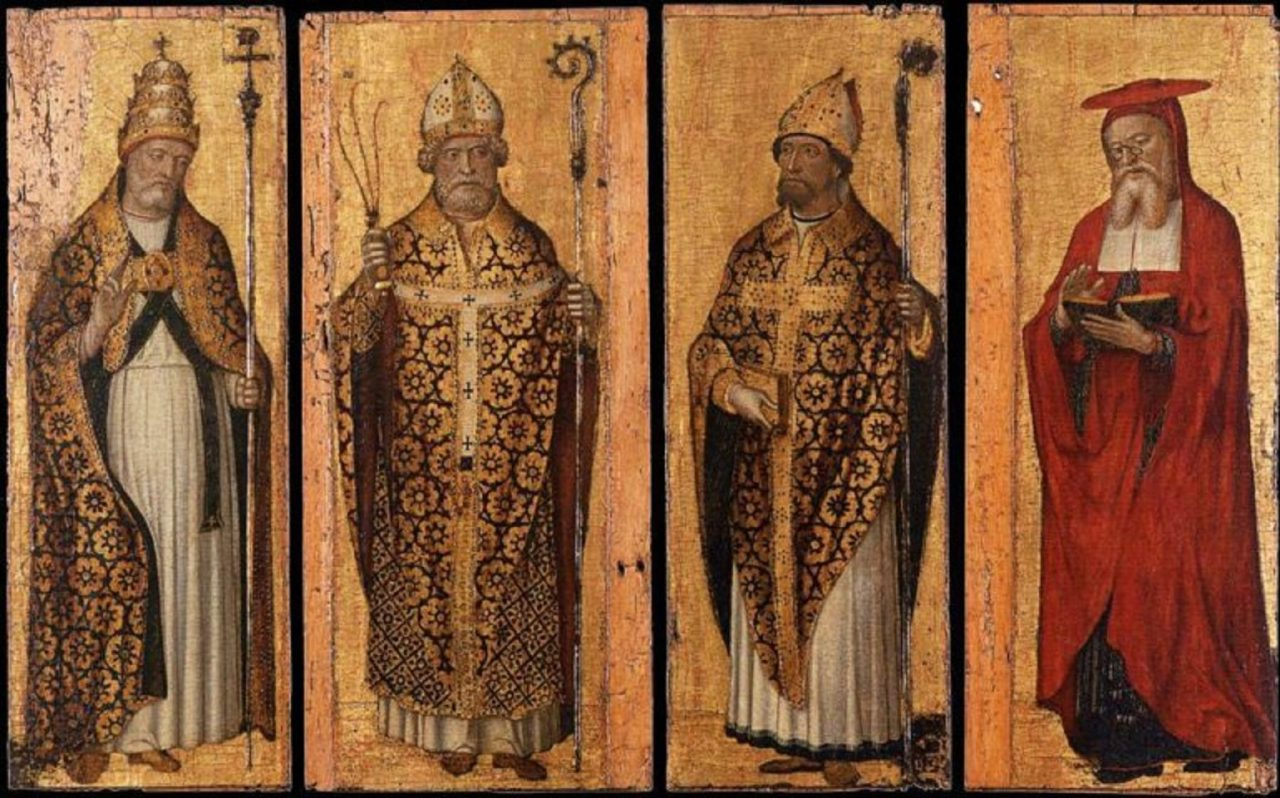 Who Were the First 4 Doctors of the Catholic Church?