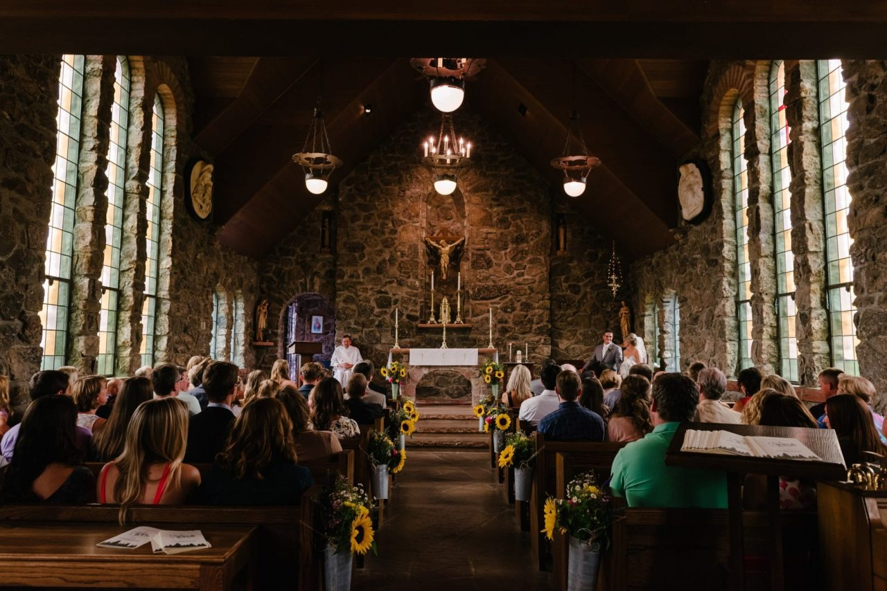 Find out why Catholics genuflect in a church?