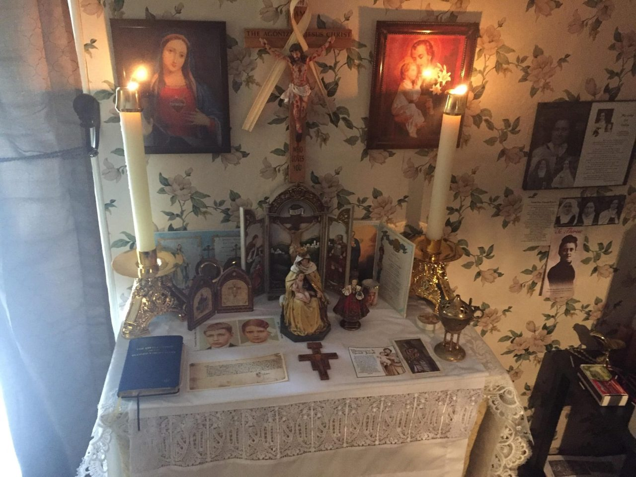 Here are 4 ways the Sacramentals can keep your House Holy!