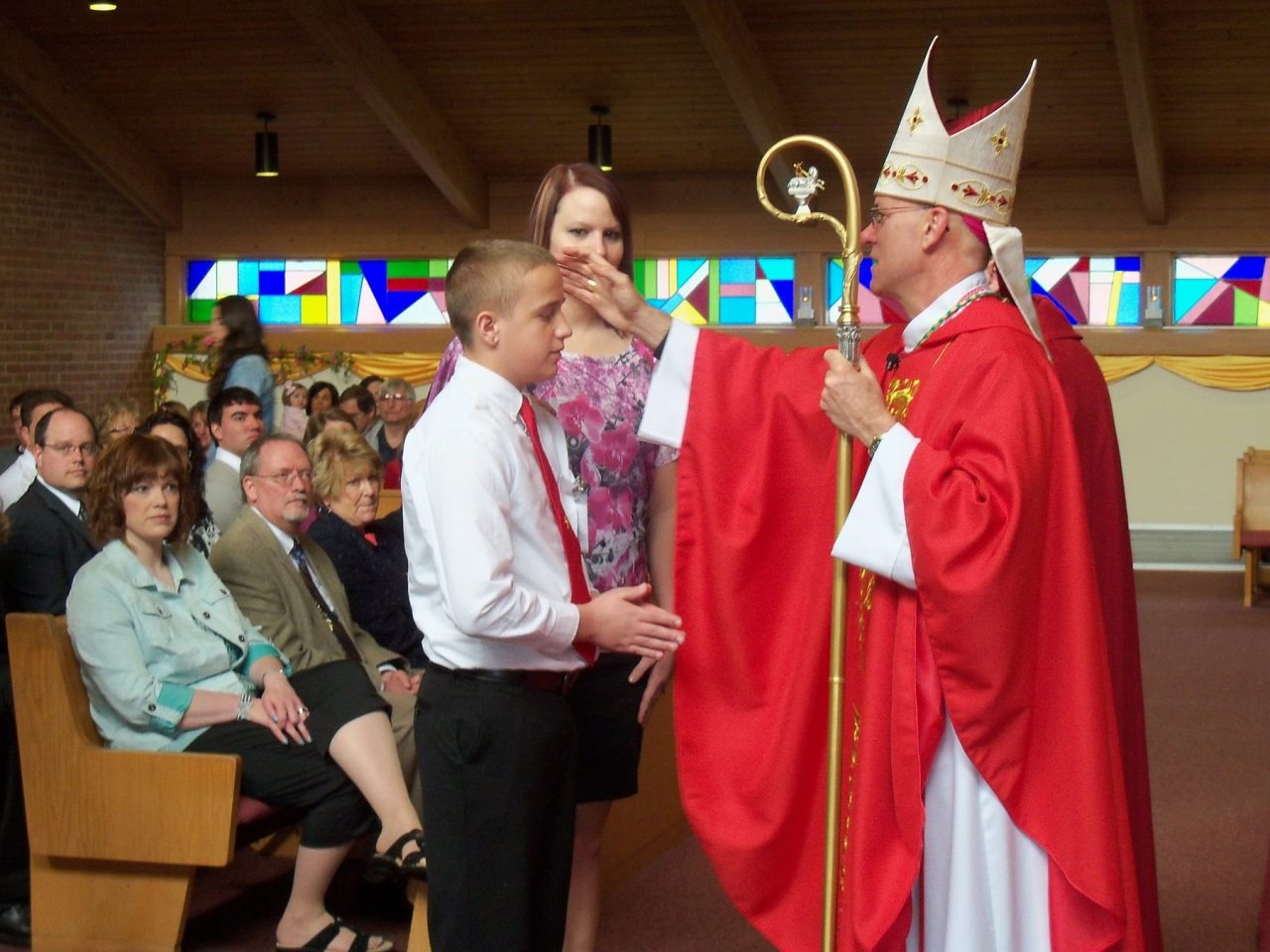 Find out why most Catholics pick Confirmation names