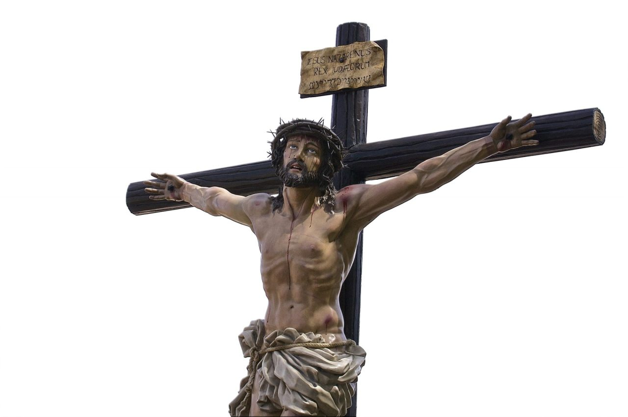 Here's the reason Catholics use crucifixes that show Jesus on the cross