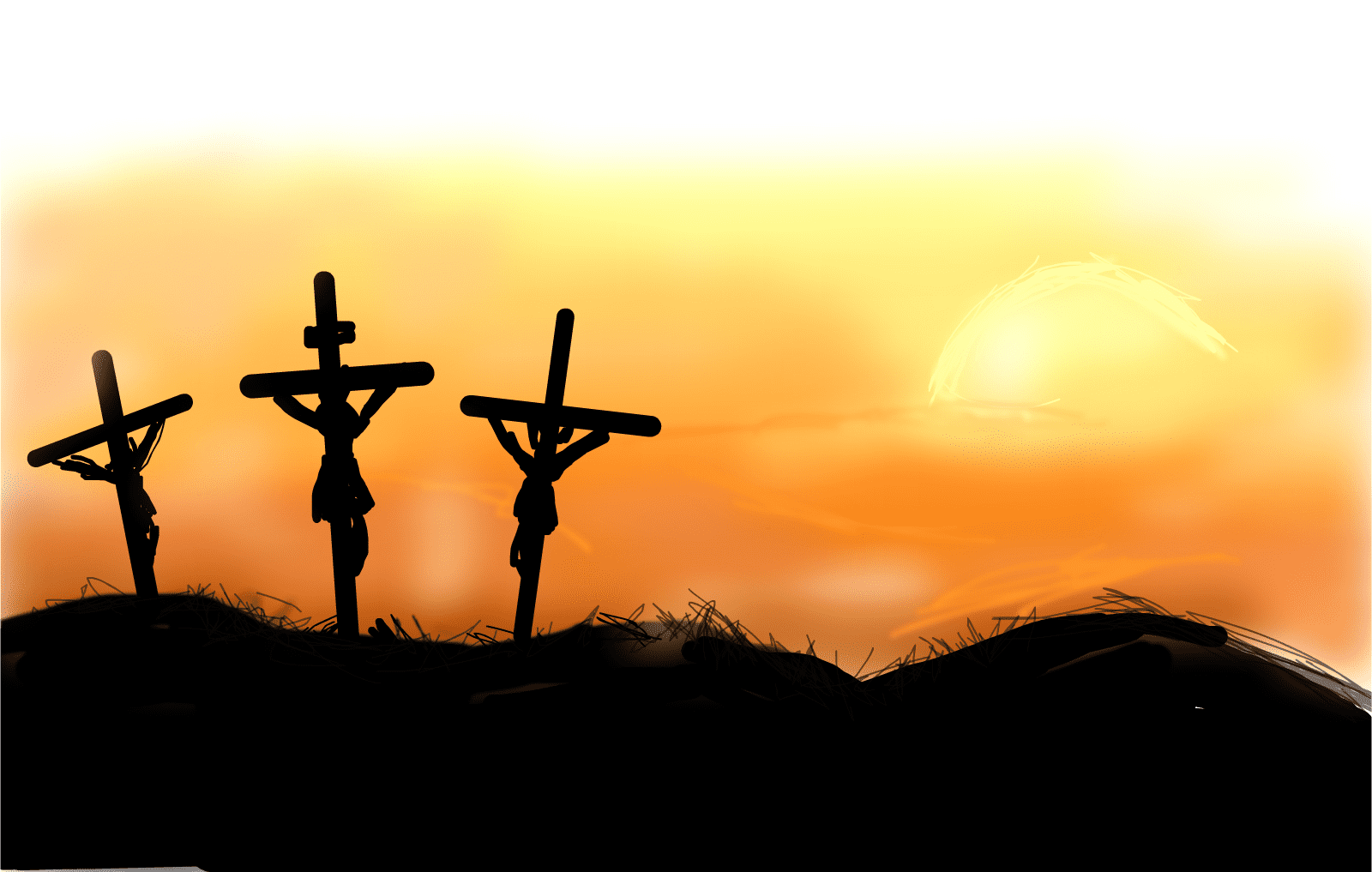 Find out the kind of cross Jesus carried to Calvary?