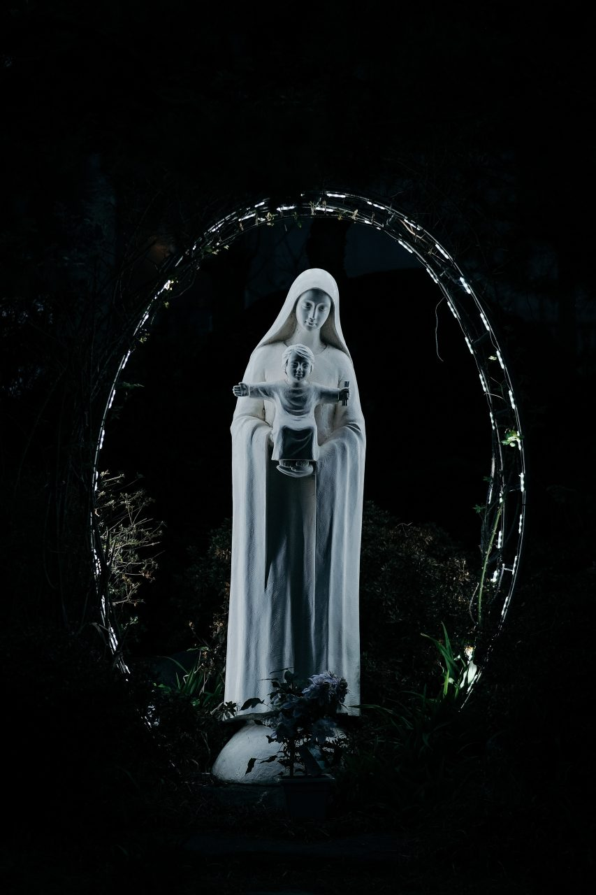 Did you know that the Blessed Mother Mary bilocated in her 1st apparition?